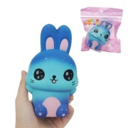 Squishy Galaxy Rabbit Kawaii Cute Slow Rising Soft Collection Gift Decor Toy
