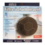Filtre à charbon actif pour hotte WHIRLPOOL AKR420 ( 09/01)