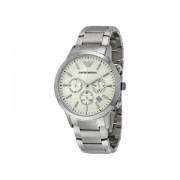 Emporio Armani Sportivo Chronograph Cream Dial Stainless Steel Men's Watch AR2458 Cream
