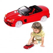 Toy Cubby Light-up Bump and Go Speed Car with Flashing Lights and Sound