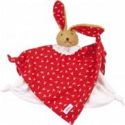 Käthe Kruse Klassieke knuffeldoek Bunny rood 0174849