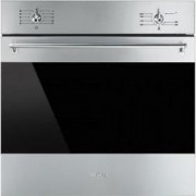 Smeg 60cm Classic Gas Oven, Stainless Steel - SF6341GGX