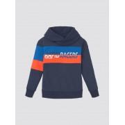 TOM TAILOR sweatshirt met opstaande kraag, Kinderen, dress blue blue, 116/122