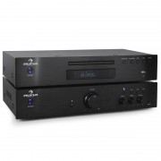 Auna Elegance Tower CD-Player 600W 2.0 HiFi Set
