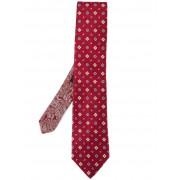 Etro жаккардовый галстук Etro
