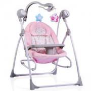 Електрическа бебешка люлка Cangaroo Swing Star, Розова, 356320