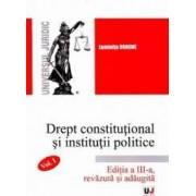 Drept constitutional si institutii politice Vol.1 Ed.3 - Luminita Dragne