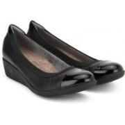 Clarks Petula Sadie Black Leather Formal For Women(Black)