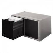 CD Box 120 бр. 'Magic Touch' с авт.отваряне - сребристра - HAMA-48319