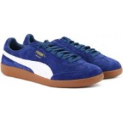 Puma Madrid Suede Sneakers For Men(Blue, White)
