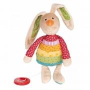 Sigikid Muziek knuffel konijn 28 cm
