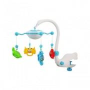 Carusel copii pentru patut cu muzica si proiectie Aqua Magic Blue