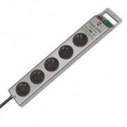 Sony 5 розеток с включателе, до 13500 А, 1153340315, серебро
