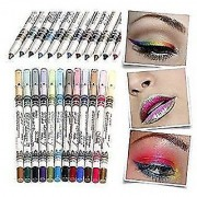 MeNow MN Sketch set of 12 Creamy Lip Liner Pencils/Eye Pencil Combo