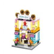 Emob 237 Pcs Classic Cookies Shop Theme 3D Bricks Building Blocks Set Toy for Kids (Multicolor)