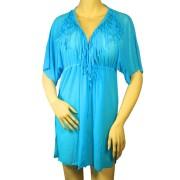 Gabana Blue šaty na plavky XL modrá