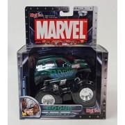 Marvel Mega Trucks Series #1 Rogue - Jeep Motorized Diecast Monster Truck - Maisto 21153