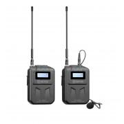Sistem wireless Boya BY-WFM6S cu Microfon lavaliera Transmitator si Receiver