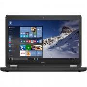 Laptop DELL, LATITUDE E5470, Intel Core i7-6820HQ, 2.70 GHz, HDD: 256 GB, RAM: 8 GB, video: Intel HD Graphics 530, webcam