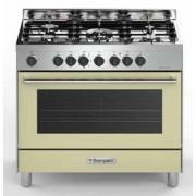 Bompani BO684DC/N cucina 90x60 crema/inox forno elettrico