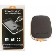 innov8tronics Nano Tempered Glass Samsung S4 with USB Portable Power Supply