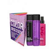 Set Matrix Total Results Color Obsessed pentru par vopsit (Sampon, 300 ml + Balsam, 300 ml + Spray Matrix Total Results Miracle Creator 20, 200 ml)