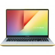 Laptop ASUS VivoBook S15 S530FA-BQ005, 15.6 FHD, Anti-Glare, Intel Core i5-8265U, RAM 8GB DDR4, SSD 256GB, Endless OS, Silver Yellow