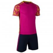 Conjunto De Fútbol Jersey Para Unisexo Permeabilidad De Color Solido - Rosa