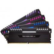 Memorie Corsair Vengeance RGB Series, 4x16GB, DDR4, 3200MHz (Negru)