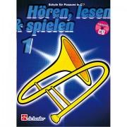De Haske Hören, Lesen&Spielen Bd. 1 für Posaune in C Libros didácticos