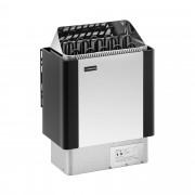 Poêle pour sauna - 9 kW - 30 à 110 °C - Enveloppe en inox