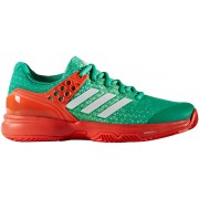 adidas tennisschoenen Adizero Ubersonic dames groen mt 38