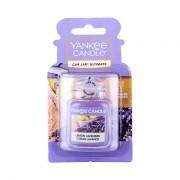 Yankee Candle Lemon Lavender Car Jar vonná visačka do auta 1 ks unisex