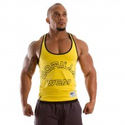 Gorilla Wear Stringer Tank Top Yellow - XXL