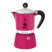 "Espressokocher Bialetti ""Moka Rainbow 3-cup Fucsia"""