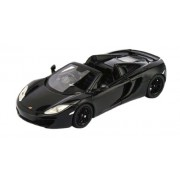 True Scale 1/43 McLaren MP4-12C Spider 2013RHD carbon black