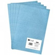 dpCraft Filc polyesterový - nebesky modrý A4, (DPFC-016)