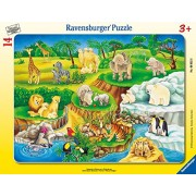 Ravensburger The Zoo My First Frame Tray Puzzle (14 Piece)