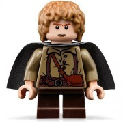 Lego The Lord Of The Rings: Samwise Gamgee Minifigure With Grey Cape