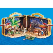 Playmobil SET MOBIL INSULA AURIE A PIRATILOR