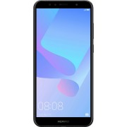 "Smart telefon Huawei Y6 2018 DS Crni 5.7""HD+ IPS, QC 1.4GHz/2GB/16GB/13&5Mpix/4G/Android 8.0"