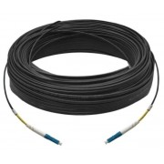 60M Simplex Single Mode UPC LC-LC Fiber Optic Cable Fiber Patch Cord Outdoor Drop Cable