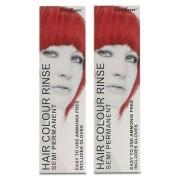 Stargazer semi-permanent färg hårfärgningsmedel gyllene flamma (2-Pack)