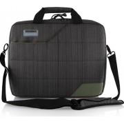 Geanta Laptop Modecom Montana Gri cu Verde 15.6 inch