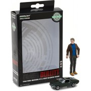 Greenlight 29931 1:64 Scale Hollywood Bullitt 1968 Ford Mustang GT Fastback w/1:18 Steve McQueen figure Hobby Exclusive