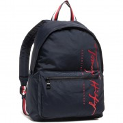 Раница TOMMY HILFIGER - Th Signature Backpack AM0AM06394 BLU
