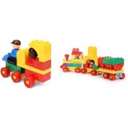 Virgo Toys Play Blocks Play Set 2 and Junior train set (Combo)