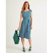 Boden Waldgrün, Kleines Fassadenmuster Esmeralda Jerseykleid Damen Boden, 32 PET, Green