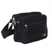Zoomlite Metroshield Anti-Theft Shoulder Bag Black