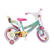 """Bicicleta pentru fetite 14"""", 4-6 ani , cu roti ajutatoare - Elena din Avalor"""